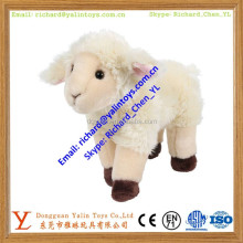 Plush Standing Lamb Animal Stuffed Toy