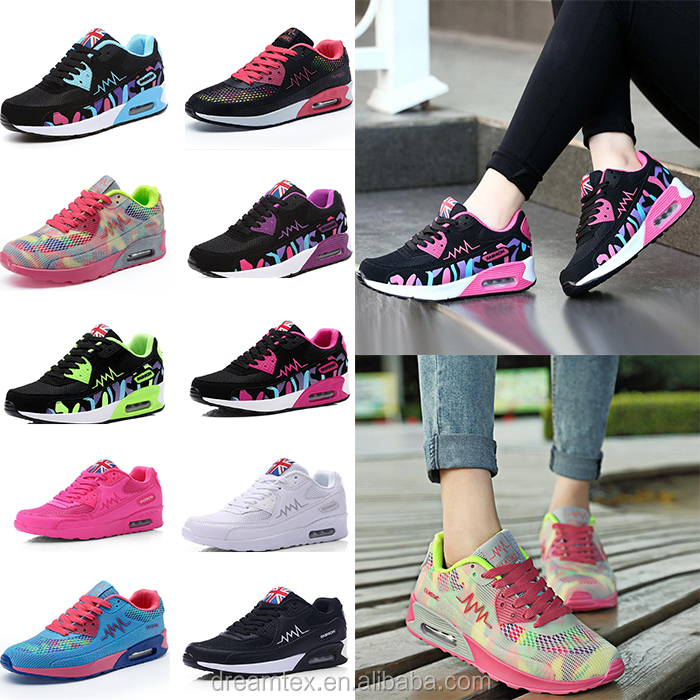 Wholesale new design fashion brand girl shoes lady sport shoes women sport shoes ladies 2016