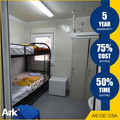 Ark Top Quality Good Price Long Lifespan Flatpack Prefabricated Steel Holding cells