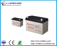 Shenzhen 12v deep cycle solar battery 12v 100ah smf battery