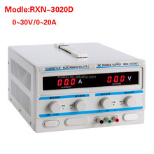 High Quality RXN-3020D Linear DC Power Supply 0-30V Outpur Voltage, 0-20A Output Current