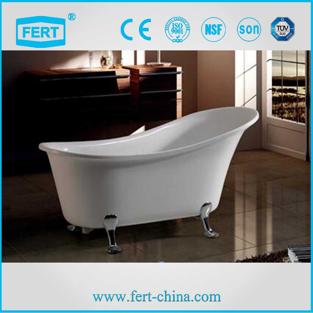 Freestanding acrylic material bathtub buy freestanding for Best freestanding tub material