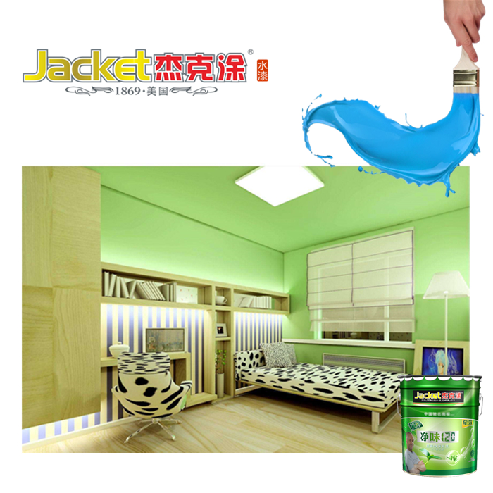 Jacket interior wall decoration acrylic latex water based paint