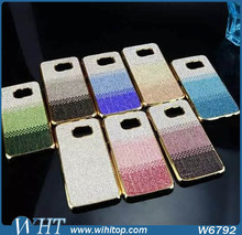 Factory Price Diamond Bling Full Rhinestone Crystal PC Hard Case for Samsung Galaxy S6