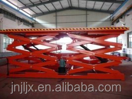 Car lifting tables/hydraulic scissor lift platform /car lifts