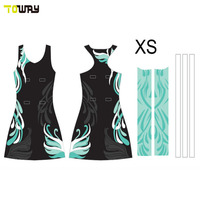 Sublimation Plus Size Sexy Netball Dress