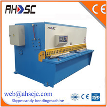 QC12Y-4*4000 380V/415V widely used shearing machine for manganese plate , E21 system cnc machine for plate cut
