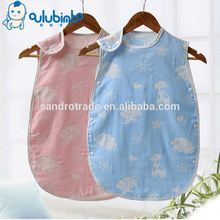 Hot Sale Lovely Design Super Soft Cotton Print Embroidery Quilted Baby Sleeping Bag Kids a Sleeping Bag