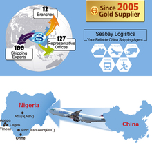 Cheap air freight cargo shipping forwarder agent service from china to lagos nigeria