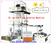 HIGH QUALITY HERO BRAND plastic film blowing machine price