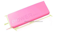 Nuevo 2014 power bank 5600 mah paquete de energía portable de reserva powerbank cargador movil indicador light para iphone samsung