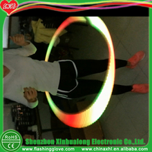 300 effects led glow hula hoop weighted hula hoop and performance used for sale