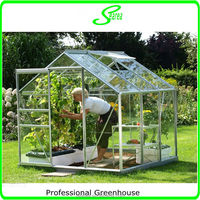 pc sheet durable aluminum garden greenhouse