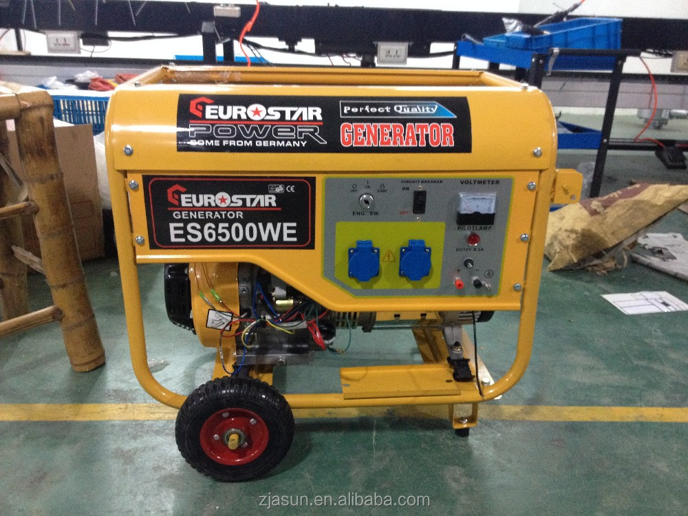 EUROSTAR 5kw Portable Petrol Generator Powered by Honda engine