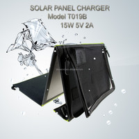 2015 hotly selling waterproof mobile phone solar charger for Samsung Cell phone