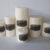 Newest luxury gift soy wax scented candles,natural soy decorative pillar candle aroma candle factory