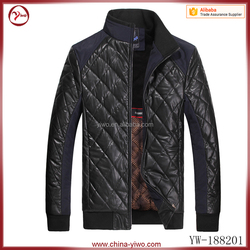 Custom casual style plus size men motorcycle leather jackets