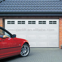 Color Steel Cheap Garage Doors/Automatic Sectional Cheap Garage Doors