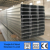 Lip Galvanized Perforated C Shape Steel CHANNEL Price HOT Sale !
