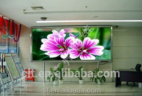 P3 indoor led large screen display/led publicity screen