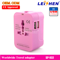 Promotional gift 5v 1a micro usb travel charger, universal travel adapter