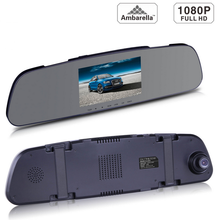 Manufacture Best Quality Ambarella A7 Car DVR Rearview Mirror Camera Video Recorder