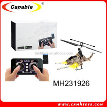 iPhone android controlled RC infrared fighting helicopter with gyro