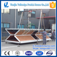 Flexible T-type Pre-fabricated house for china factroy