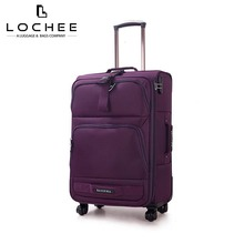 Zipper Polyester 28 Classic Luggage Bag Suitcase Travel Trolley Luggage