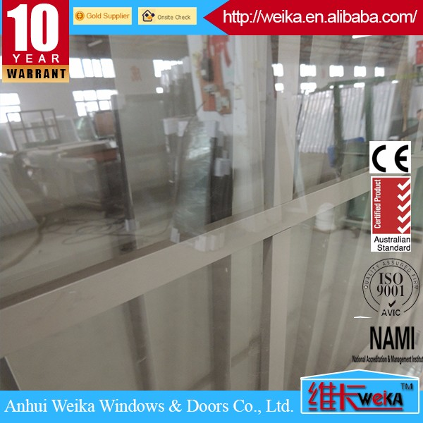 pvc vertical sliding window/lifting window