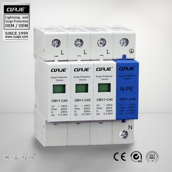 Pluggable SPD, Plug-in SPD, MOV surge protection