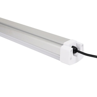 High Quality 2ft 4ft 5ft 6ft 8ft IK10 IP65 LED triproof Light CE RoHS 5 Years Warranty led batten light for chicken farm