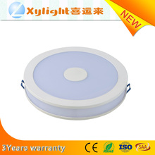 Factory price 12W Circular round surface mounted led panel light
