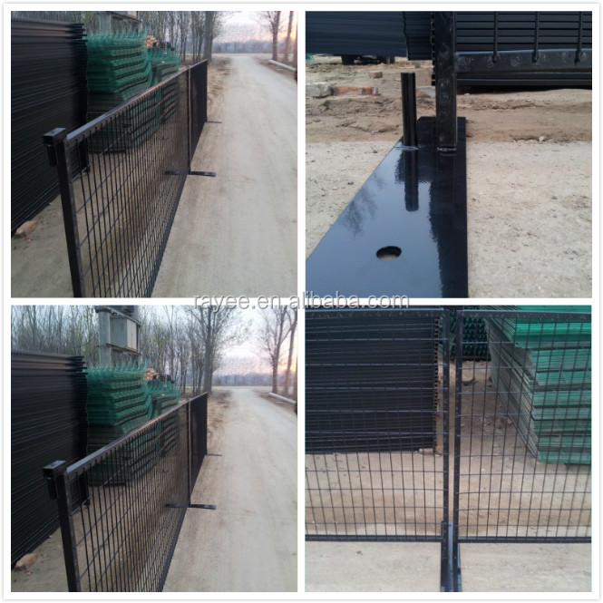 Direct Factory Of Temp Movable Fences/ muro con pliegues,cerca temporal