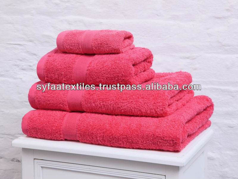 100% Cotton Pakistan Supreme Quality Made Bath Towels