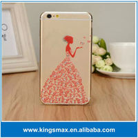 Hot selling special pattern painted christmas mobile phone case for iphone6