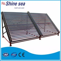 Factory directly provide hot air evacuated tube solar collector