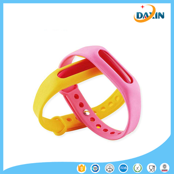 2016 Newest silicone insect repellent bracelet