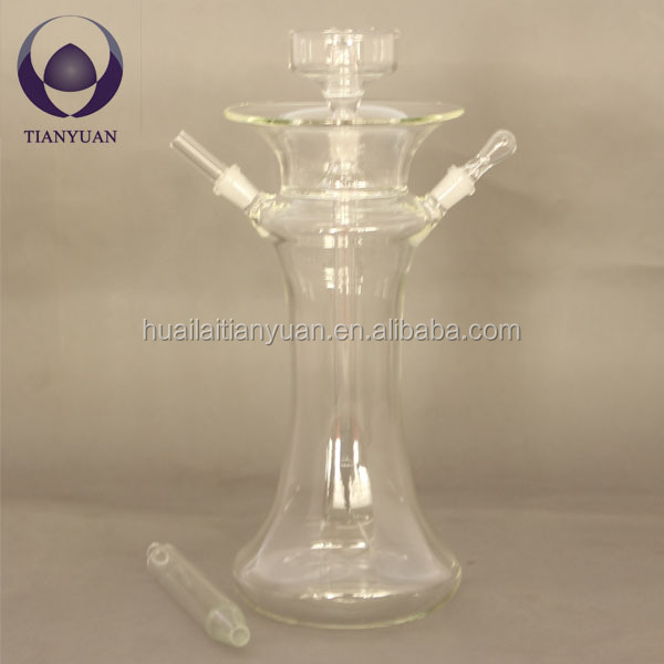 china hand blown borosilicate hookah glass crystal