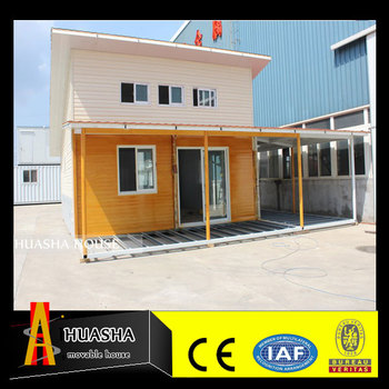Construction two storey granny flat container house price