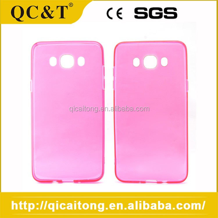 OEM Water-proof TPU Pure Color Brand Name Phone Case For SAM