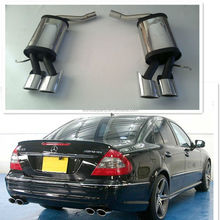 stainless steel muffler for Benz E-CLASS W211 AMG style