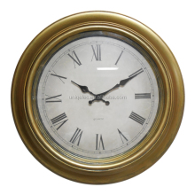 18 inches Antique plastic wall clock for home