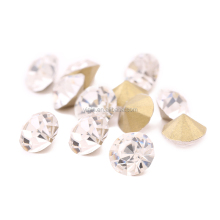 Top Quality Best Price 3mm Clear Rhinestones, Pointback Crystal for Nail art