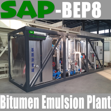 SAP-BEP8 Bitumen Emulsion Plant for road construction