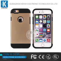 [kayoh]Hybrid Shockproof Armor Silicone Rubber Hard Back Case Cover For Apple iPhone 4s 5 5s 6 6s