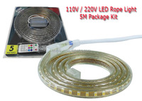 Party Decorations Christmas Lights Led Kit Ip65 220 V Led Strip Light 5050 Rgb Led Strip Kit