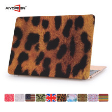 High quality and competitive price leopard grain waterproof laptop case for macbook11/12/13/15