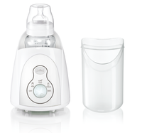 Thermometer Portable Breast Baby Food Warmer and Milk Bottle Steam Sterilizer