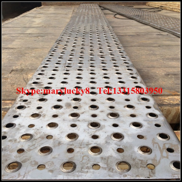 Extruded Holes Anti Skid Perforated Sheet Perforated Metal